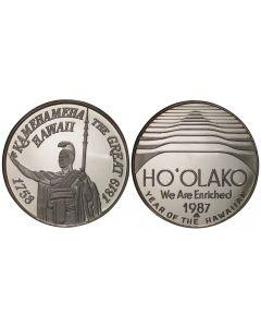 1987 HO'OLAKO SILVER DALA