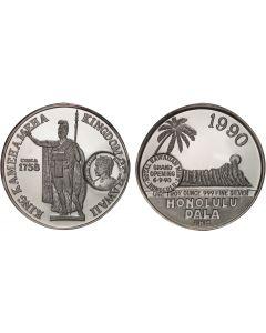 1990 KAMEHAMEHA HONOLULU DALA COUNTERSTRUCK WITH  LILIUOKALANI