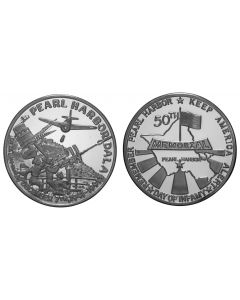1991 PEARL HARBOR 50TH ANNIVERSARY- ERROR