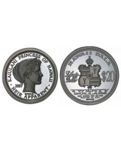 2007 PRINCESS KAIULANI $20 HAWAII DALA