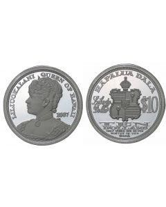 2007 QUEEN LILIUOKALANI $10 HAWAII DALA